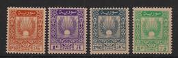 Syrie - 1946 - N°Yv. 14 à 17 - Série Complète - Neuf Luxe** / MNH / Postfrisch - Syrië