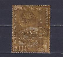 MALI 1969, Mi# 204, CV €30, Golden Foil, Space, MNH - Mali (1959-...)
