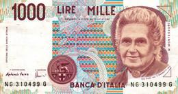 "1000 Lire ""Montessori"" / NEUF - 1000 Liras"
