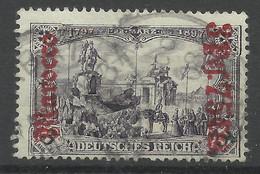 Deutsche Post In Marokko 32 B Gest., Geprüft Jäschke-Lantelme - Oficina: Marruecos