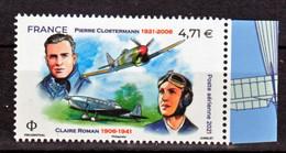 France PA 85 Closterman Et Claire Roman 2021  (feuille De 10) Neuf ** TB MNH Sin Charnela Faciale 4.71 - 1960-.... Neufs