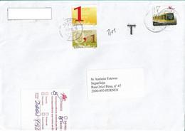 Portugal 2012 , T , Postage Due Stamps , Administrative Label , CEM Sul Postmark - Cartas
