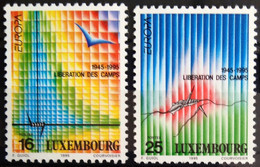 EUROPA LUXEMBOURG Yv 1218/9 MNH Neufs** - - 1995