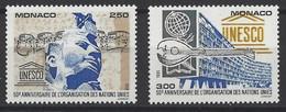 MONACO Yv 2008/9 MNH Neufs** - - Unused Stamps