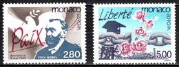 MONACO Yv 1987/8 MNH Neufs** - - Unused Stamps