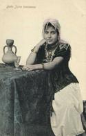 Judaica Belle Juive Tunisienne  RV - Tunisie