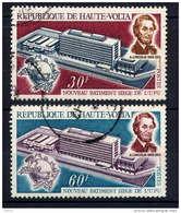 Hte VOLTA - 216/217° - SIEGE DE L'U.P.U. - Haute-Volta (1958-1984)