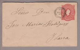 Ecuador 1892-05-19 Quito 5 Centavos Ganzsache Nach Ybarra - Ecuador