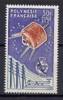 French Polynesia 1965 Space ITU Stamp MNH -scarce- - Oceania