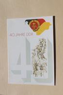DDR 1989, 40 Jahre DDR; Amtl. Ersttagsblatt, ETB 3/1989; MiNr. 3279-82, Block 100 - Maximumkarten (MC)
