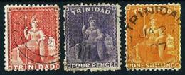 Trinidad & Tobago (Británico) Nº 21/... Cat.28€ - Trindad & Tobago (...-1961)