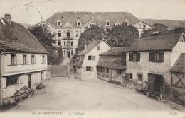 68 - Saint Hippolyte : Le Collège - CPM Au Format 9x14 écrite - Altri Comuni