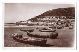 44409-ZE-MAROC-AGADIR-La Plage Et La Kasbah----------------barques - Agadir