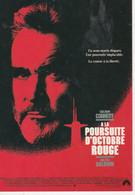 CPM A La Poursuite D'Octobre Rouge, 1990, Sean Connery, Alec Baldwin - Posters Op Kaarten