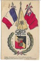 Gloire à LIEGE (geurre 14-18) (patriotique) - Guerra 1914-18