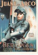 CPM:Affiche: JUANA De ARCO Jeanne D'Arc, Ingrid Bergman - Posters Op Kaarten