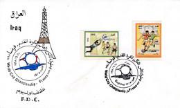 1998 IRAQ FDC FOOTBALL SOCCER SPORTS - Iraq