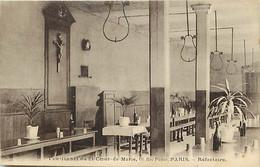 -dpts D-ref-AX75- Paris - Pensionnat Du St Coeur De Marie-  60 Rue Picpus - Recfectoire - Pensionnats - Ecoles - - Paris (12)