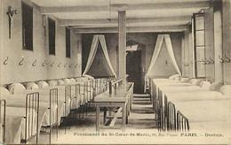 -dpts D-ref-AX74- Paris - Pensionnat Du St Coeur De Marie-  60 Rue Picpus - Dortoir - Pensionnats - Ecoles - - Paris (12)