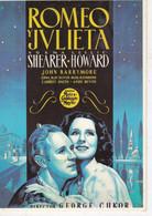 CPM:Affiche: ROMEO Y JULIETA Avec Norma Shearer Et Leslie Howard - Posters Op Kaarten