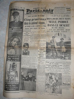 Journal Paris Soir 28 Mai 1938 Dupeyron Rickett Tchecoslovaquie Lord Plymouth Chaise Arsonval Darrieux Cerbère - Autres