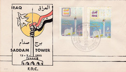 1995 IRAQ FDC SADAM TOWER - Iraq