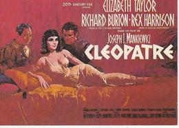 CPM: Affiche: CLEOPATRE Avec Elisabeth TAYLOR, Richard BURTON Et Rex HARRISON - Posters Op Kaarten