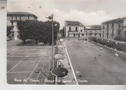CAVA DEI TIRRENI SALERNO CAMPO DA TENNIS E PISCINA  VG - Salerno