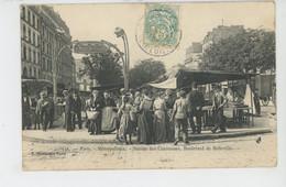PARIS - XIème Arrondissement - METROPOLITAIN - Station Des Couronnes , Boulevard De Belleville - Edit. Marmuse - Metropolitana, Stazioni