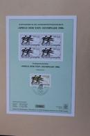 DDR 1988, Olympische Sommerspiele 1988 - Seoul; MiNr 3185; Hürdenlauf, Mit Schwarzdruck - Summer 1988: Seoul