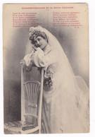 Jolie CPA Commandements De La Jeune épousée, A. Bergeret, Nancy. A Voyagé En 1904 - Women