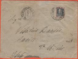 REGNO D'ITALIA - 1928 - 50c + Annullo Speciale R.N. C. Di Milano Sped. Artica (RRR) - Recupero Dirigibile ITALIA/Nobile - Marcophilia