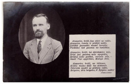 LATVIA. LETTLAND JURMALNIEKS Alberts Eichmanis PC 1920s - Latvia