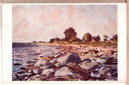 LATVIA. LETTLAND E. VOLFEILS - Juras Krasts Pie Duntes PC 1930s - Latvia