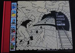 FRANCE 2007 Le Timbre Voyage Avec TINTIN  Avec TIMBRES NEUFS** (trés Bon état) - Collections