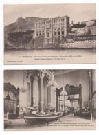 """Lot 8 Cpa""""MONACO-MONTE-CARLO""""MUSEE OCEANOGRAPHIQUE""""CASINO La Salle Des Concerts""""les Jardins""""les Canons""""palais Du Prince"""" - Collections & Lots"""