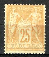 Francia 1774 Unif.92 */MH VF/F - 1876-1898 Sage (Type II)