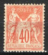 Francia 1774 Unif.94 */MH VF/F - 1876-1898 Sage (Type II)