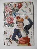 Chromo Découpi Gaufré Ajouré Canivet Chocolat POULAIN - Poulain