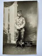 Guerre 14-18 - Carte Photo Militaire Blessé Souvenir De L'Hôpital Auxiliaire 237 De St Germain En Laye - 1914-1915  TBE - War 1914-18