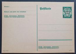 Deutsches Reich 1939, Postkarten P284 Aufbrauchsausgabe Ungebraucht - Enteros Postales