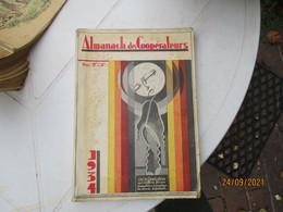 1934 Almanach Des Cooperateurs Rouen - 1901-1940