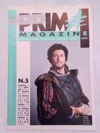Prima Magazine 5 1991 Merighi Gianni Gambi Interlenghi Caricature Pegoli Totò De Curtis Scataglini Amadei Shalimar - Prime Edizioni
