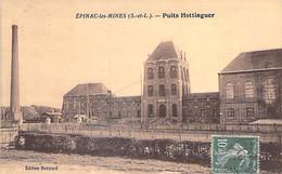 71 - EPINAC Les MINES : Puits HOTTINGUER - CPA Village (2.234 H) Saône Et Loire - Altri Comuni