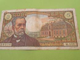 Billet De Banque Ancien / PASTEUR/ 5 Francs/ 26356/ M.117/1979   BILL209 - 5 F 1966-1970 ''Pasteur''