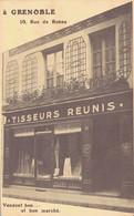 K33 - 38 - GRENOBLE - Isère - Tisseurs Réunis - 10 Rue De Bonne - Vendent Bon...  Et Bon Marché - Grenoble