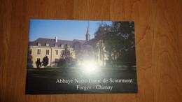 ABBAYE NOTRE DAME DE SCOURMONT FORGES CHIMAY Brochure Régionalisme Monastère Cistercien Brasserie - Belgique