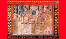 ITALIA - Usato - 2013 - 1700 Anni Dell'editto Di Milano - S. Silvestro Mostra A Costantino I Un'icona Sacra  BF - 1,90 - Blocks & Sheetlets