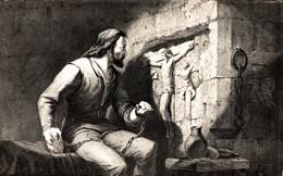 N°16215 Z -cpsm Gisors -le Château Fort- La Tour Du Prisonnier-(sculpture) - Gisors