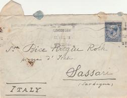 LETTERA REGNO UNITO 1920 2,5 (VS169 - Covers & Documents